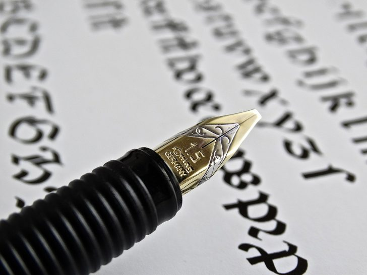 fountain-pen-442066_1920