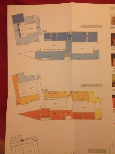 美術館の地図