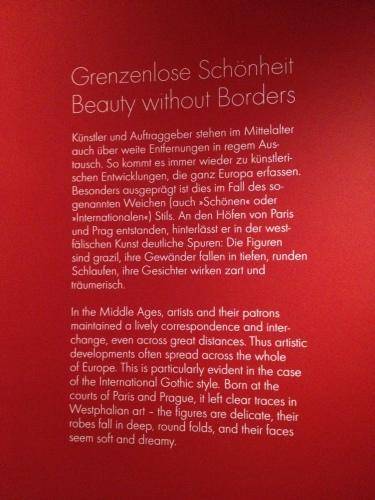 国境を越えた芸術の発展の説明文