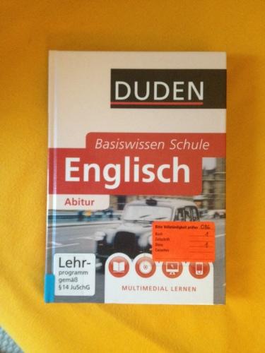 ドイツ語で書かれた英語の教科書