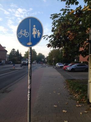 自転車の走行可能な道路