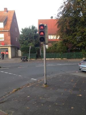 自転車用の信号