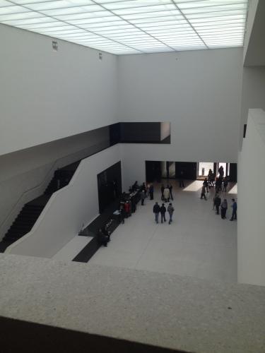 LWL美術館の内部