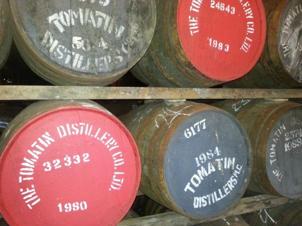 whiskeyの樽