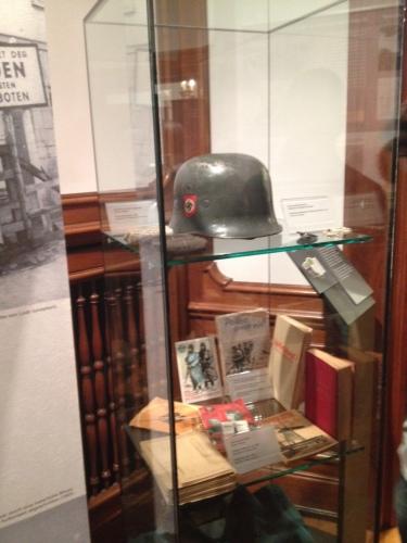 ナチスミュージアムの展示