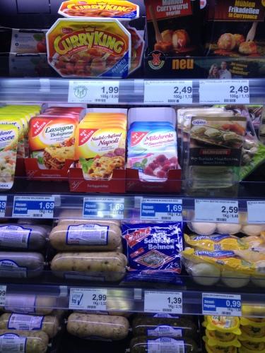 スーパーの弁当(2~3ユーロ)