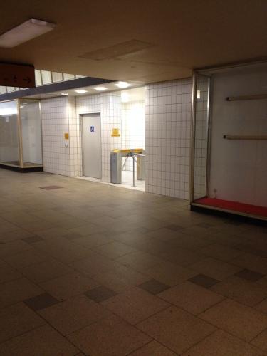 駅の公衆トイレ