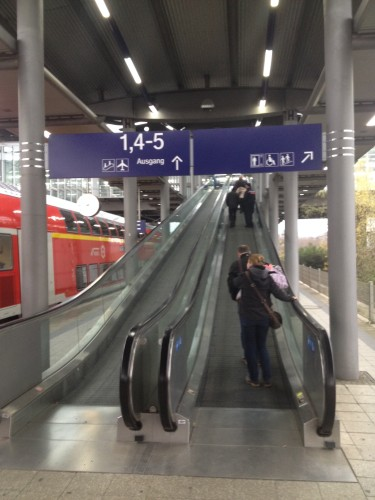 Düsseldorf空港駅
