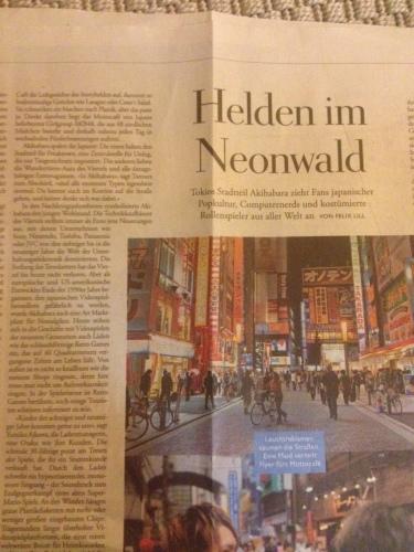 ドイツ語の新聞