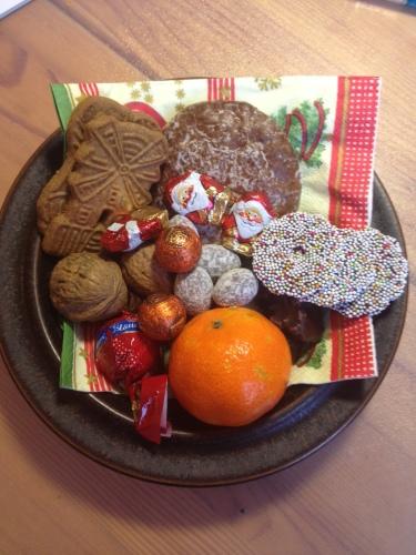 聖ニコラウスの日のお菓子