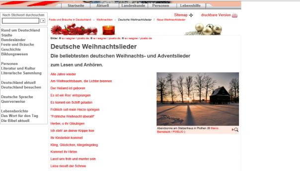 ドイツのクリスマスソング