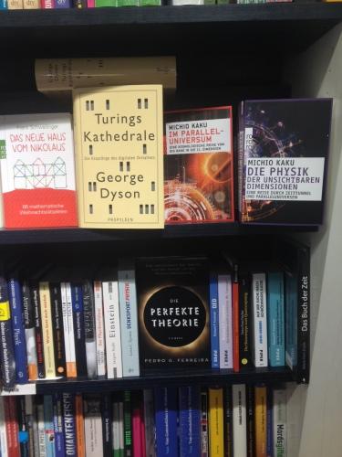 書店の科学コーナー
