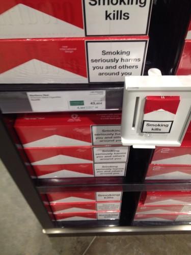 免税店のタバコ
