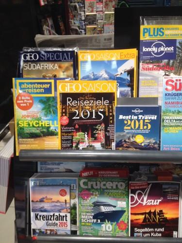 ドイツの雑誌コーナー
