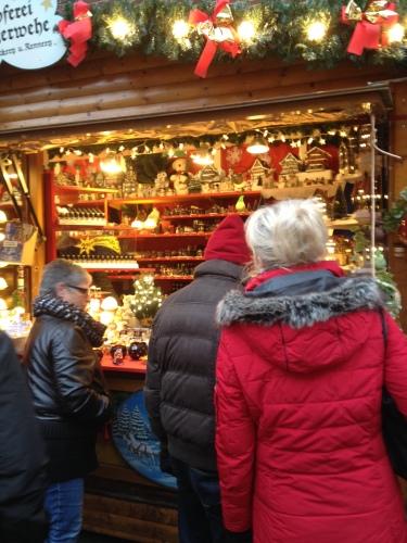 クリスマスマーケットのお土産物
