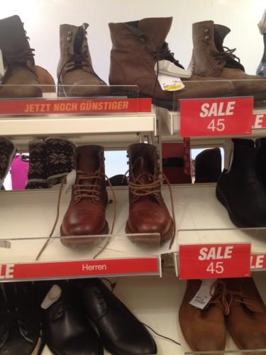 ドイツのブーツ