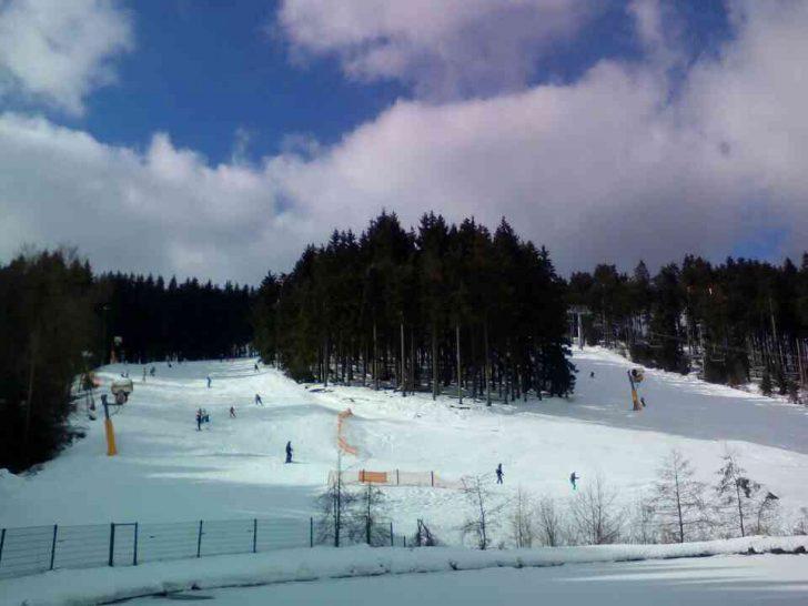 ドイツの雪山