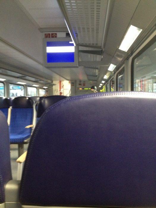 電車内の様子