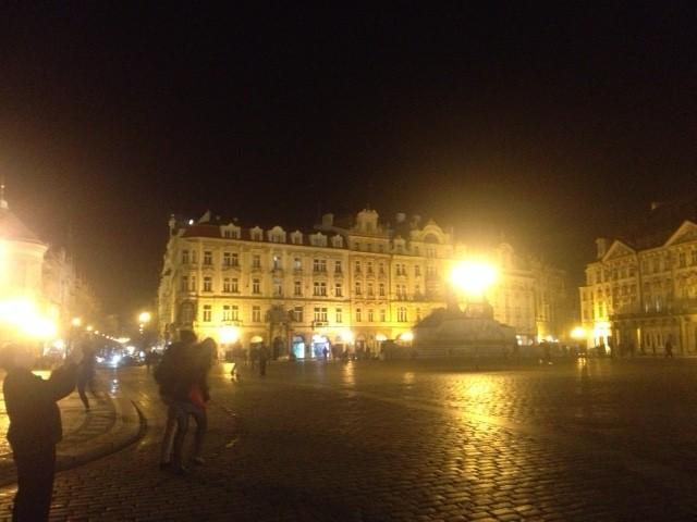 チェコの夜景