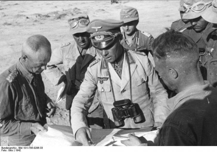 Nordafrika, von Bismarck, Bayerlein, Rommel