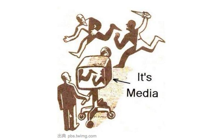 ジャーナリズムに対する風刺