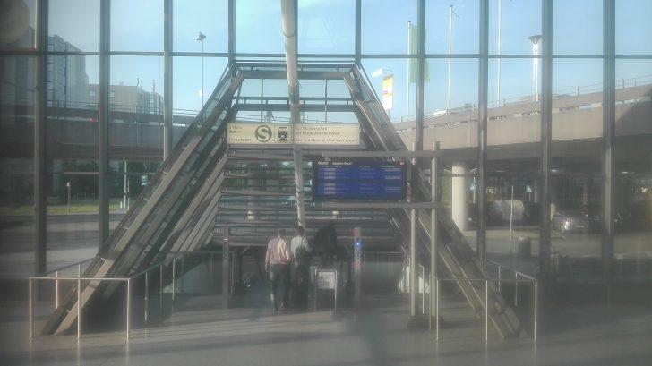 ハノーファー空港からハノーファー駅へ
