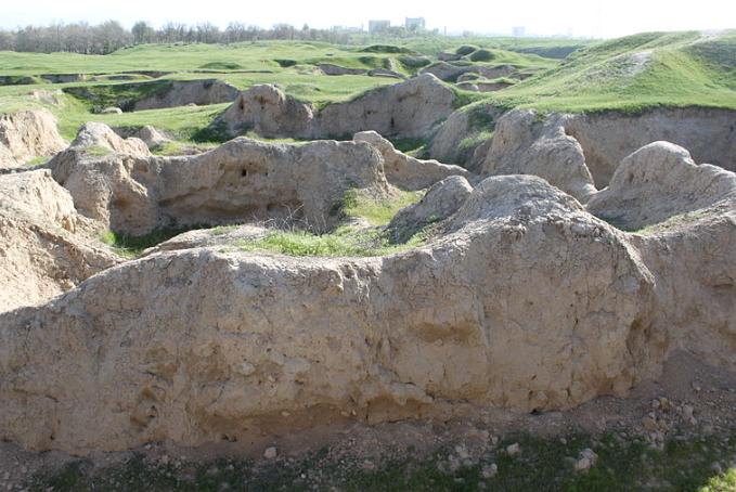 アフラシヤブ(元サマルカンド)の遺跡