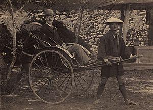 大津事件で襲撃される前のニコライ2世